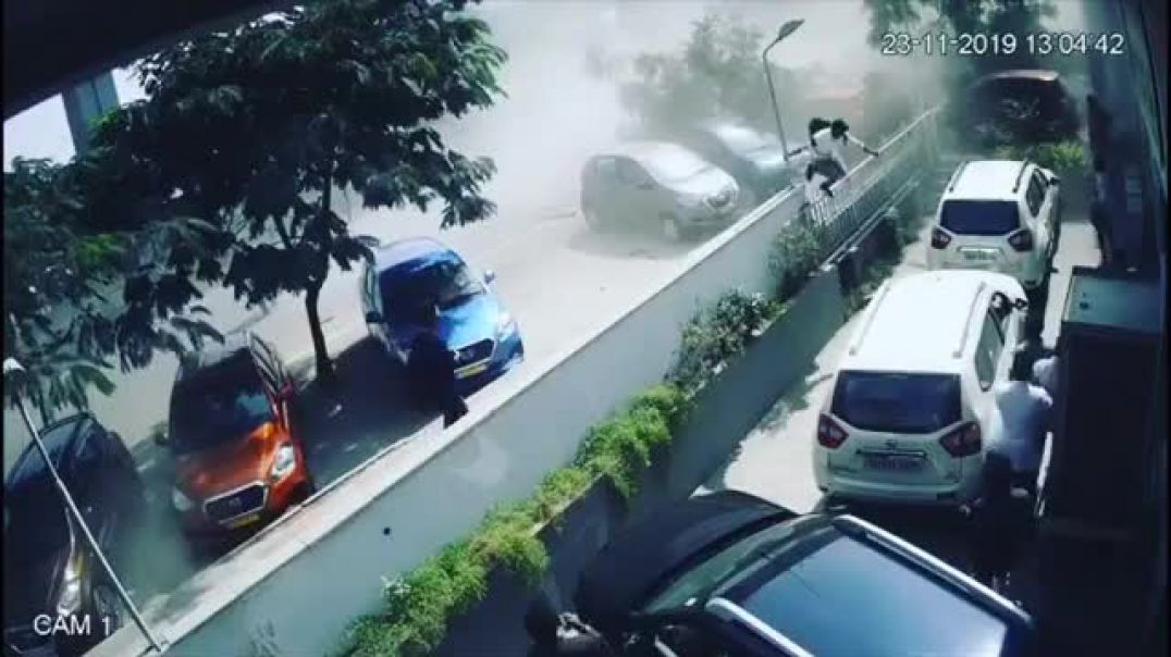 Road Accident | Fallen flyover to Street